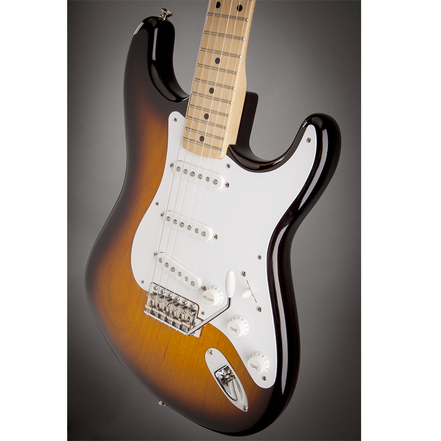 Fender 60th Anniversary American Vintage 1954 Stratocaster - 2-Color Sunburst View 5