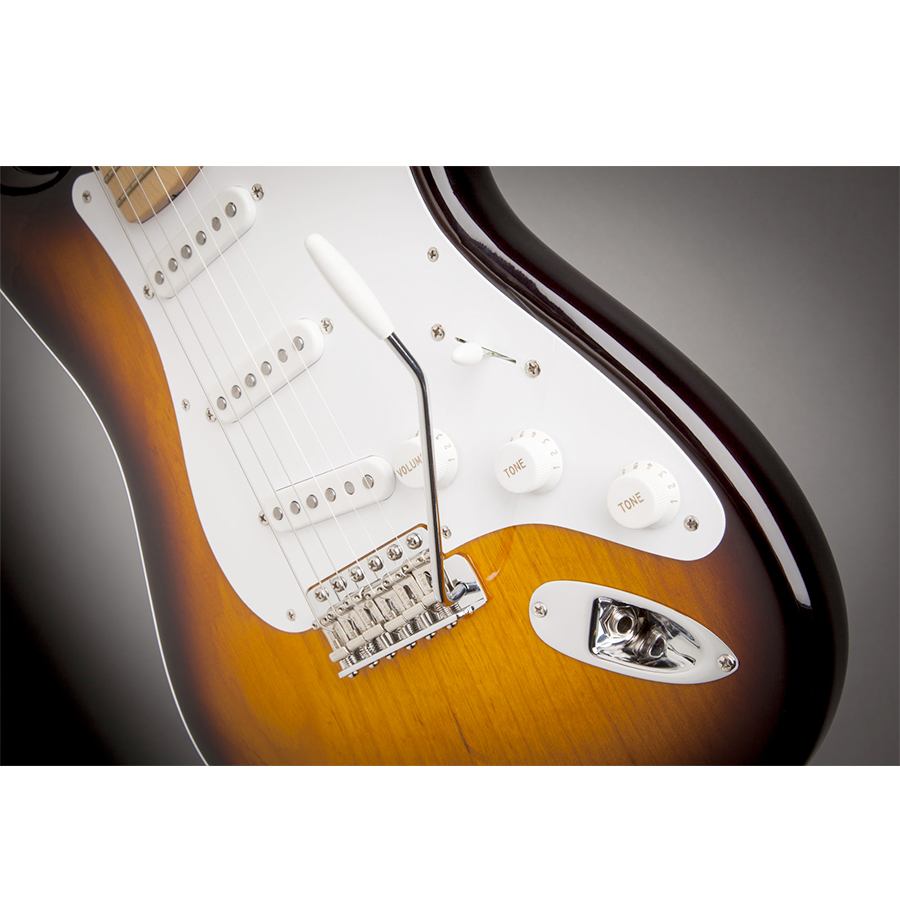 Fender 60th Anniversary American Vintage 1954 Stratocaster - 2-Color Sunburst View 6