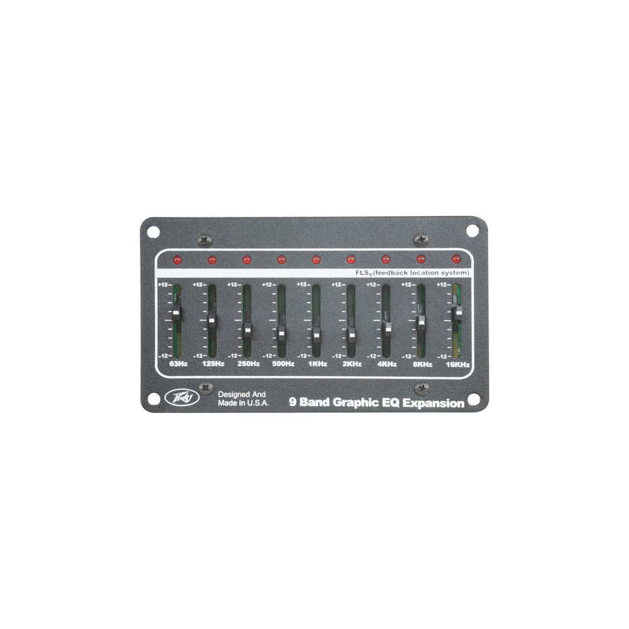 9-Band Graphic EQ Expansion Module