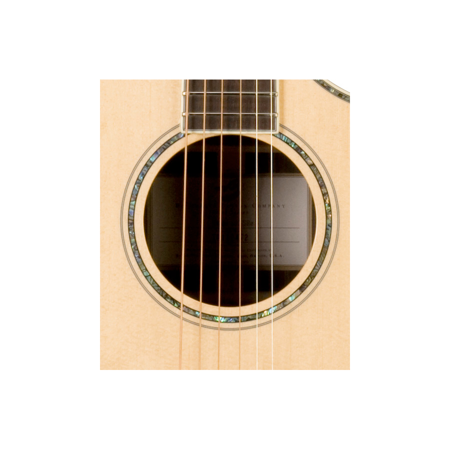 Breedlove Stage Concert Guitar Soundhole Detail