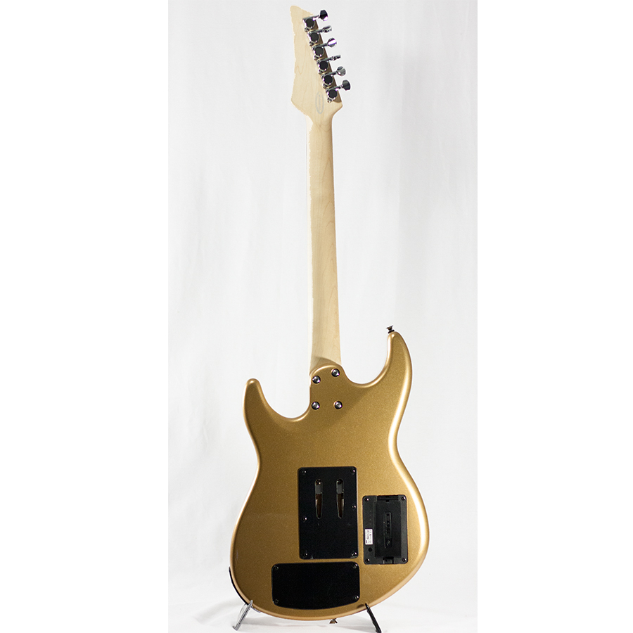 Line 6 James Tyler Variax JTV-69 Shoreline Gold *Demo Rear View
