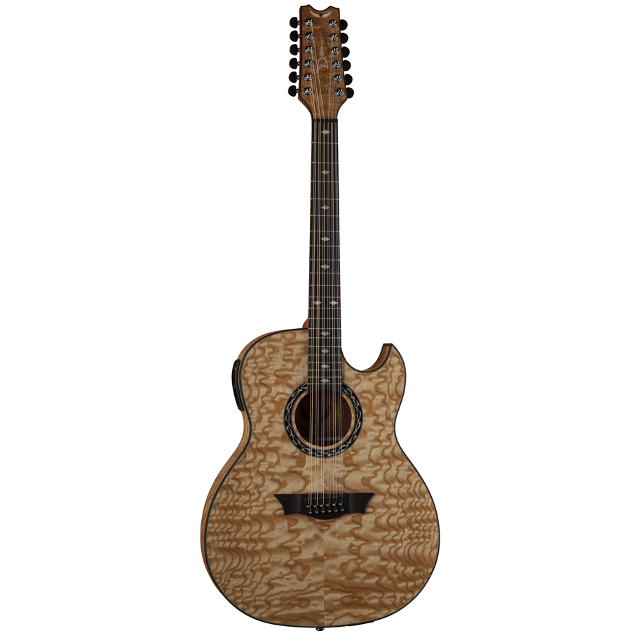 Exhibition Quilt Ash Gloss Natural 12-String