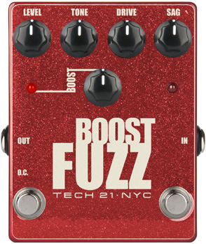 Boost Fuzz Metallic