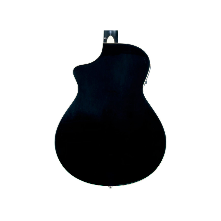 Breedlove Stage Black Magic Concert Guitar Rear Body