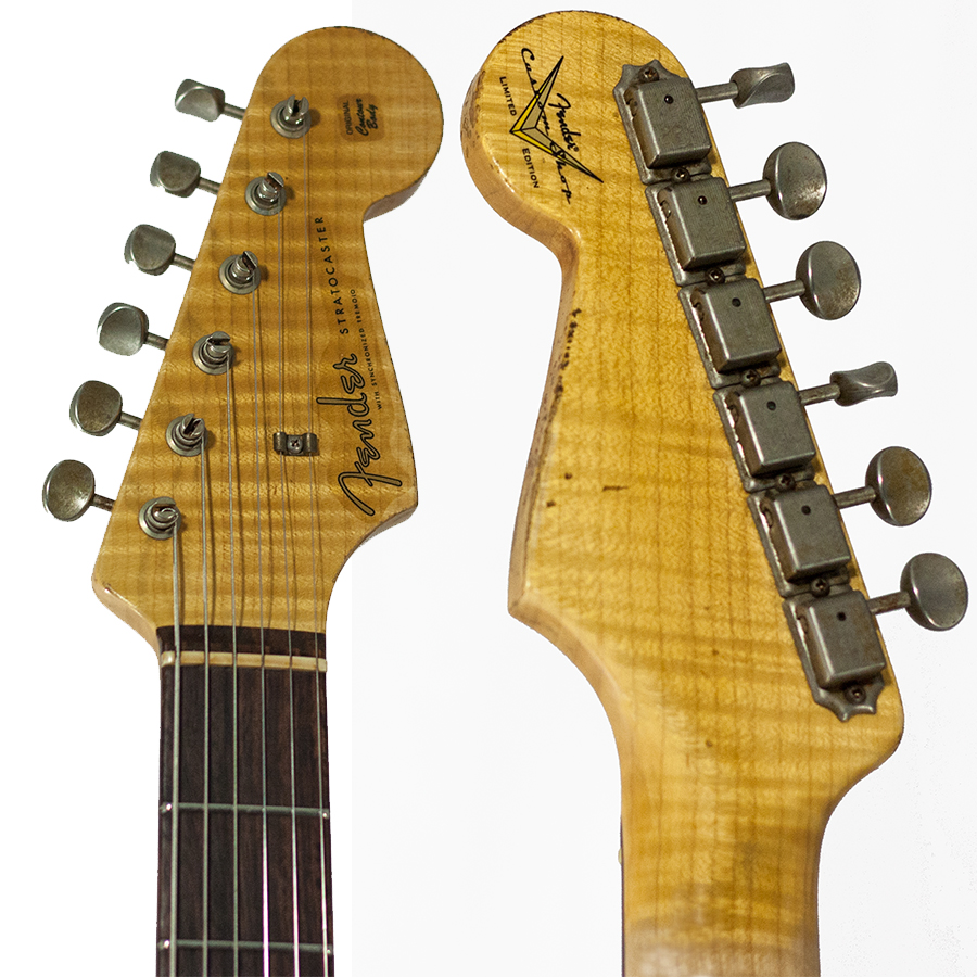 Headstock Front and Back