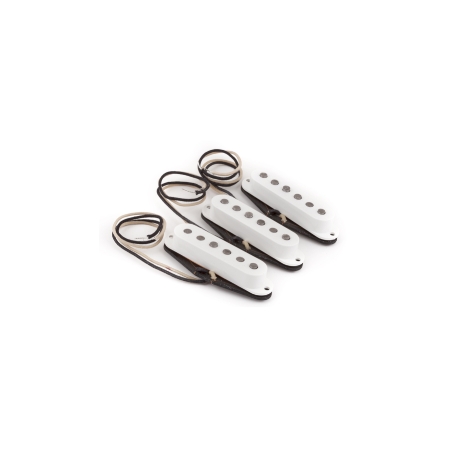Pure Vintage 56 Strat Pickup Set - Vintage White