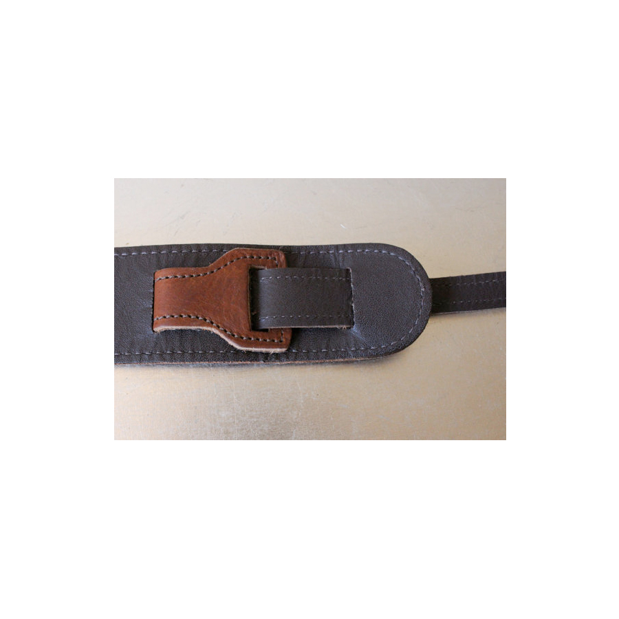 Copper Peace Gypsy Leather Banjo Strap View 3