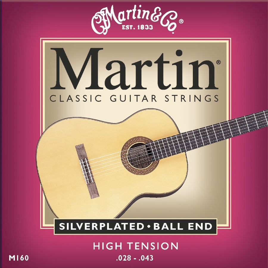 Martin M160 Classical Strings - 12 Pack View 2