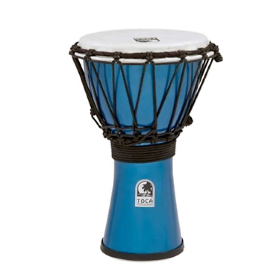 Freestyle ColorSound Djembe Metallic Blue
