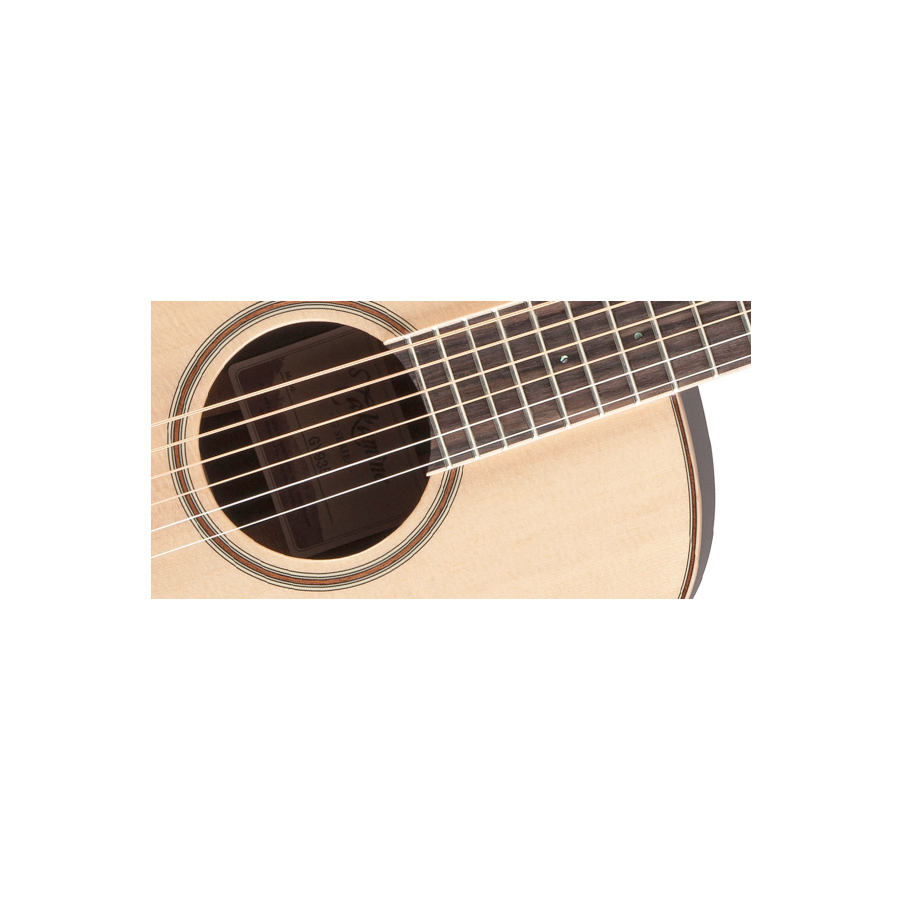 Takamine GY93E Natural Soundhole Detail