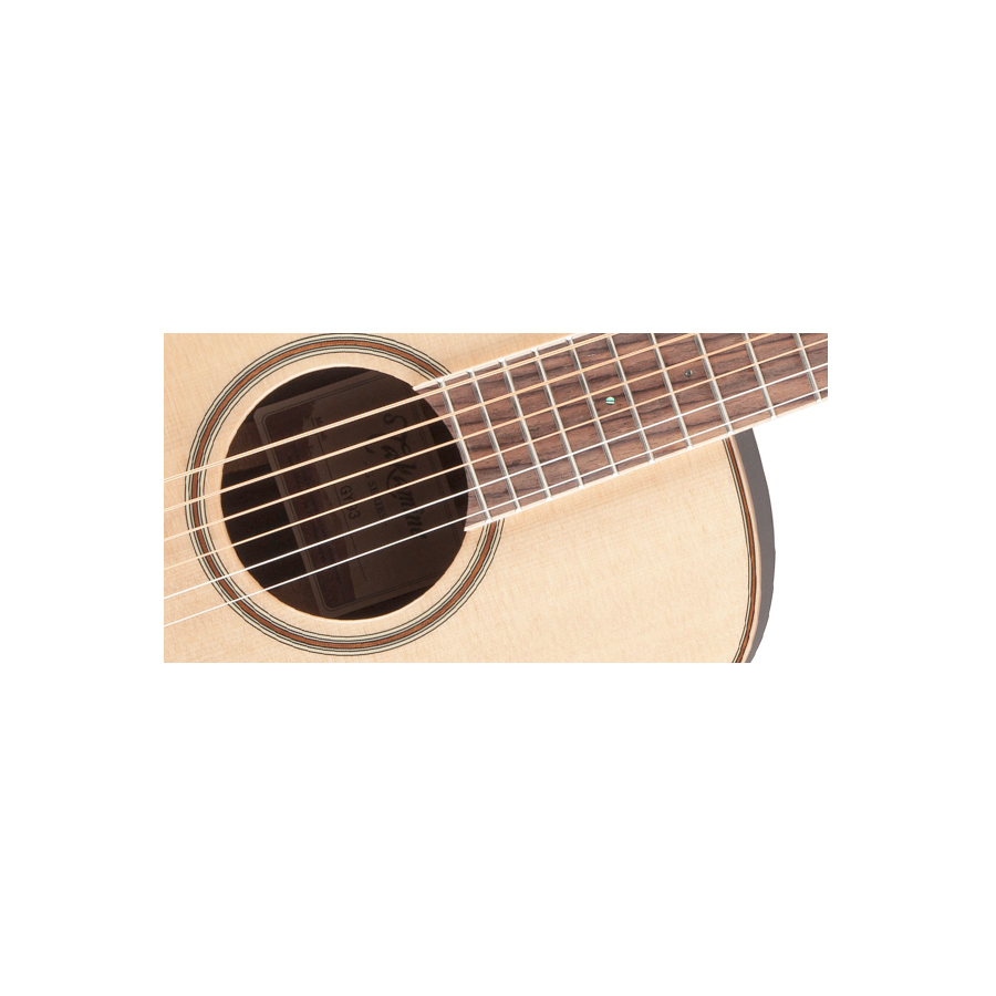 Takamine GY93 Natural Soundhole Detail