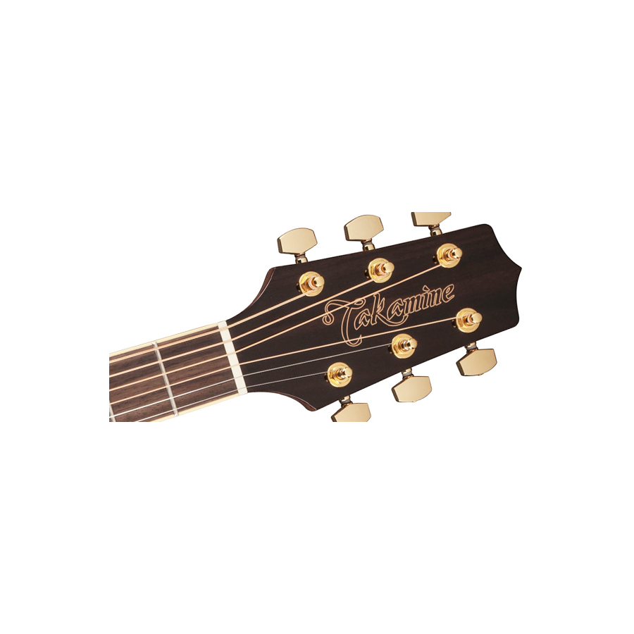 Takamine GN51 Natural Soundhole Detail