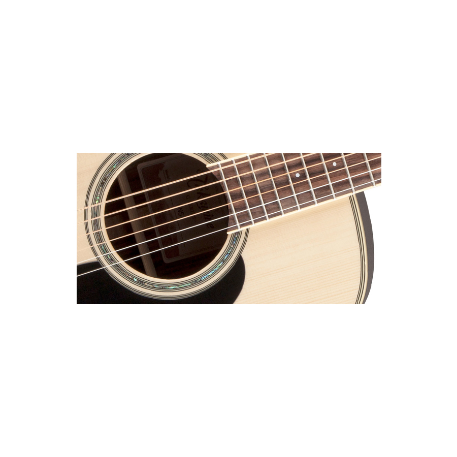 Takamine GN51 Natural Headstock
