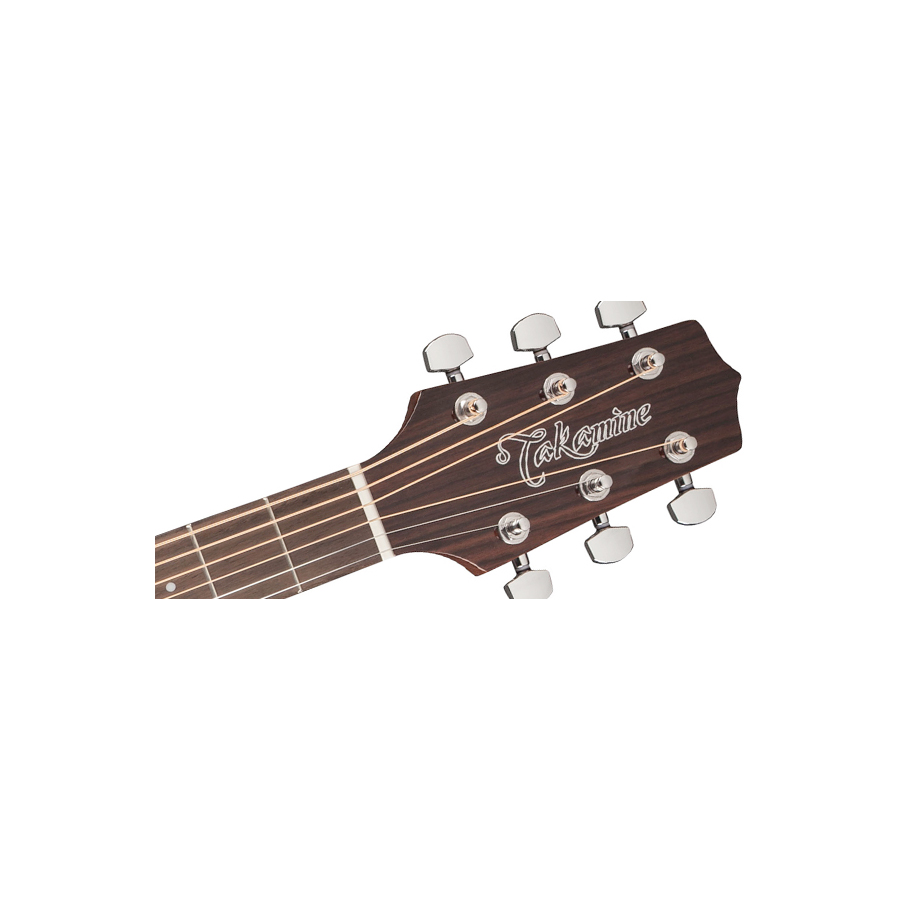 Takamine GD30 Natural Headstock