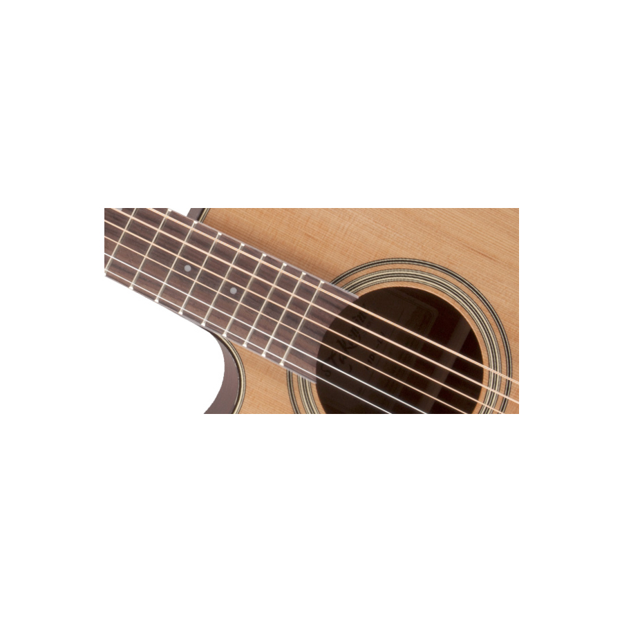 Takamine P1DC Left-Handed Natural Soundhold Detail