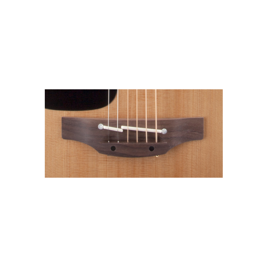 Takamine P1DC Left-Handed Natural Bridge