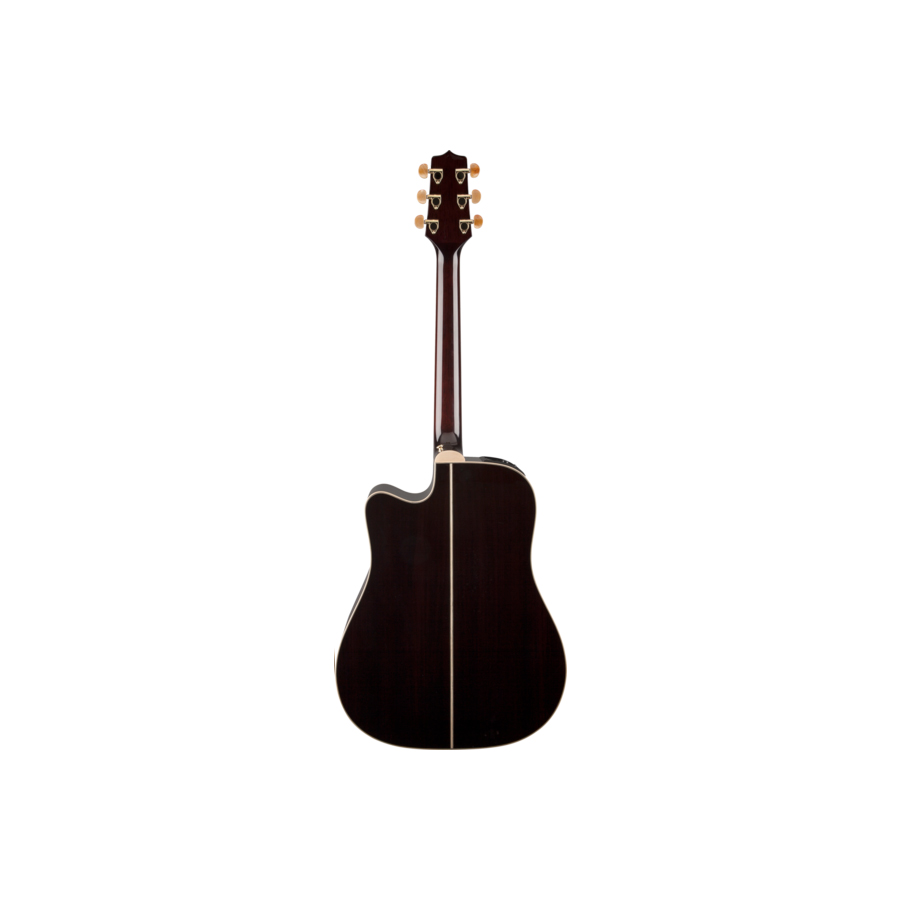Takamine GD71CE Brown Sunburst Detail 2