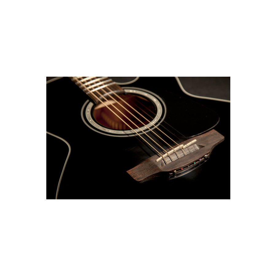 Takamine GN30CE Black Body Detail