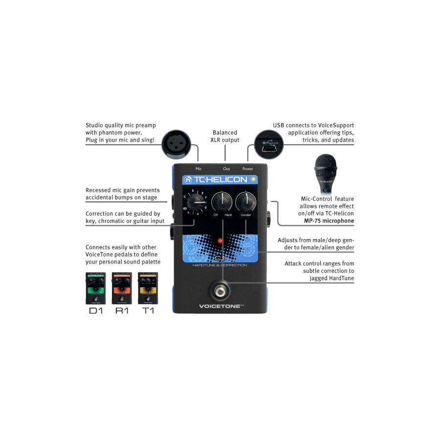 TC Helicon VoiceTone C1 View 4