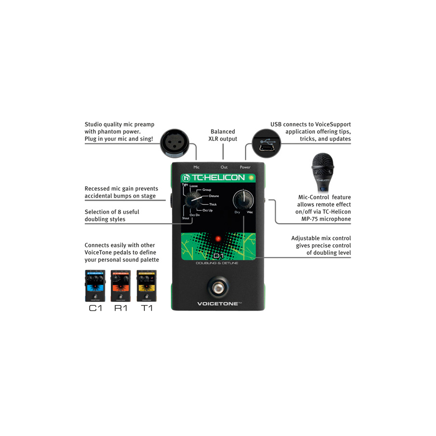 TC Helicon VoiceTone D1 View 4