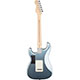 Fender American Deluxe Strat Plus Mystic Ice Blue Rear View
