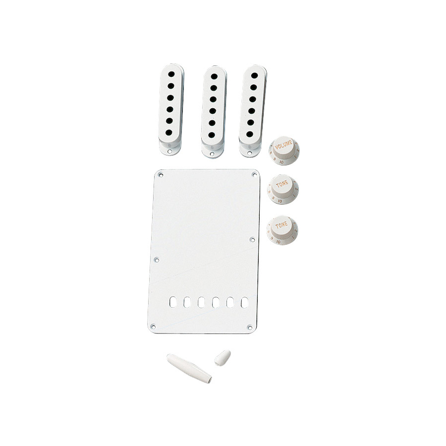 Vintage-Style Stratocaster Accessory Kits White