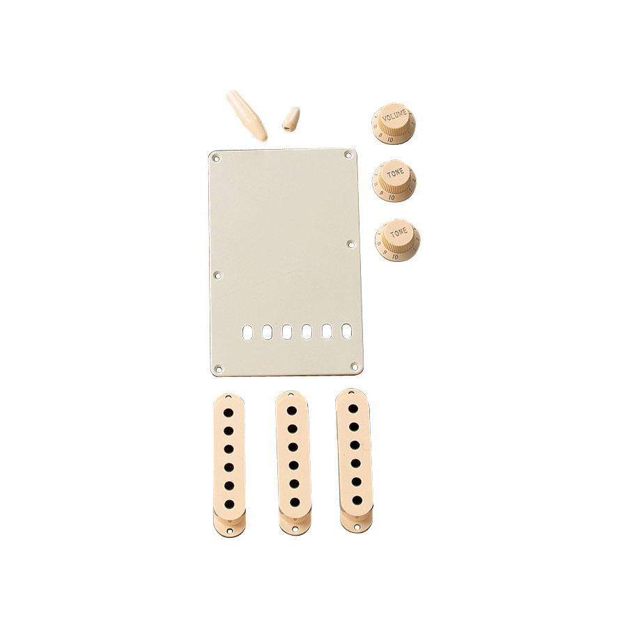 Stratocaster Accessory Kits Aged White