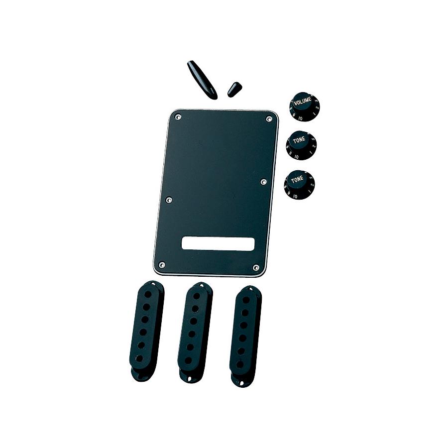 Stratocaster Accessory Kits Black
