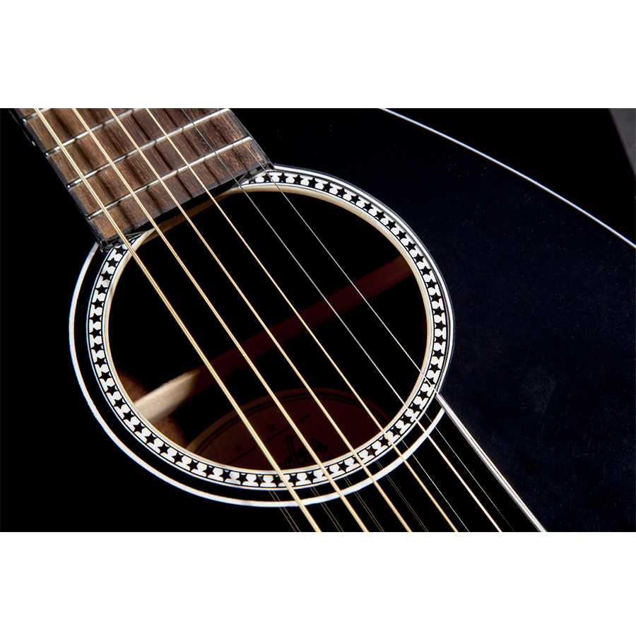 Fender Avril Lavigne Newporter Soundhole Detail