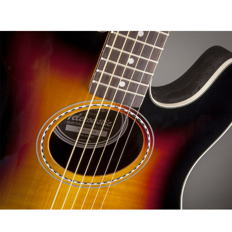 Fender Telecoustic Premier 3-Color Sunburst View 2