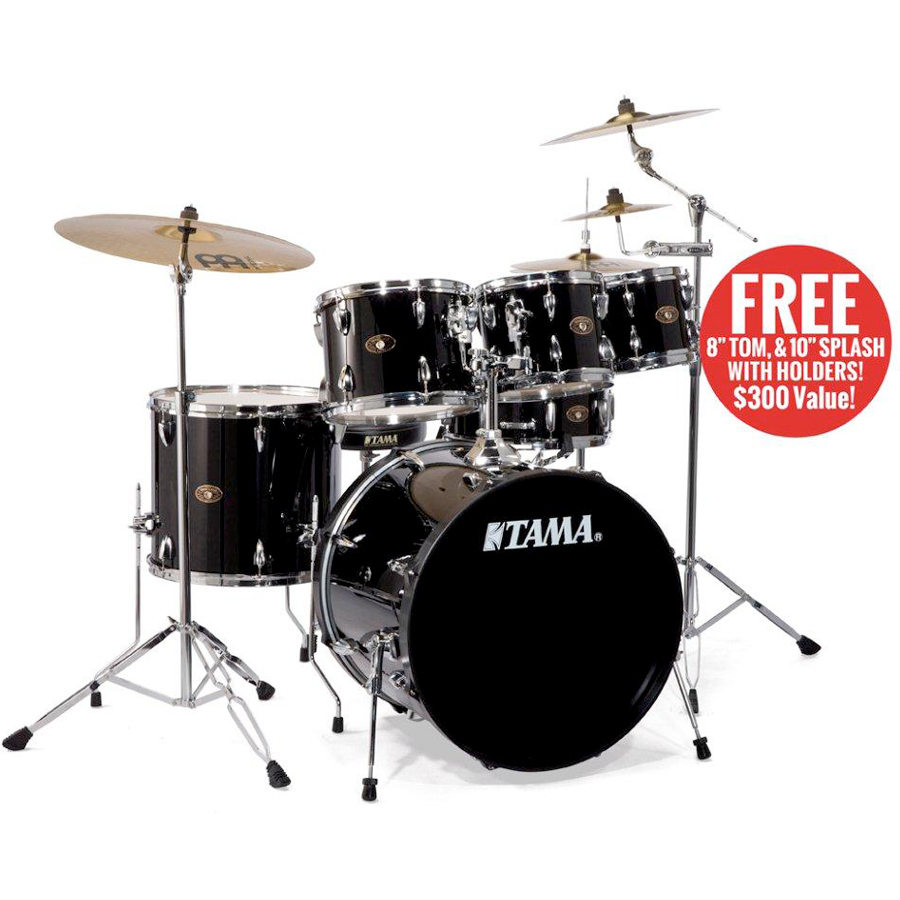 Tama IM52K Imperialstar Hairline Black Shown in Classic Black