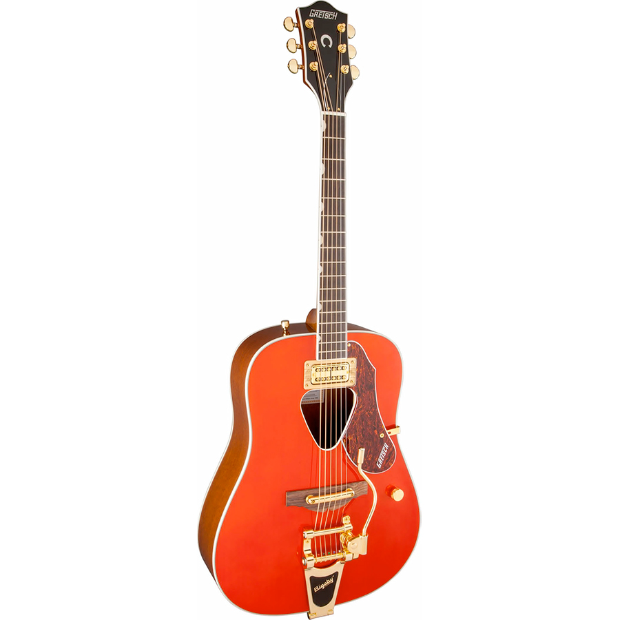 Gretsch G5034TFT Rancher Savannah Sunset Angled View