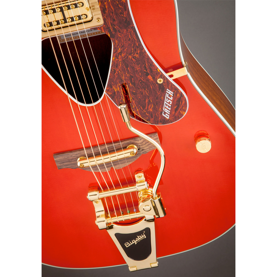 Gretsch G5034TFT Rancher Savannah Sunset View 6