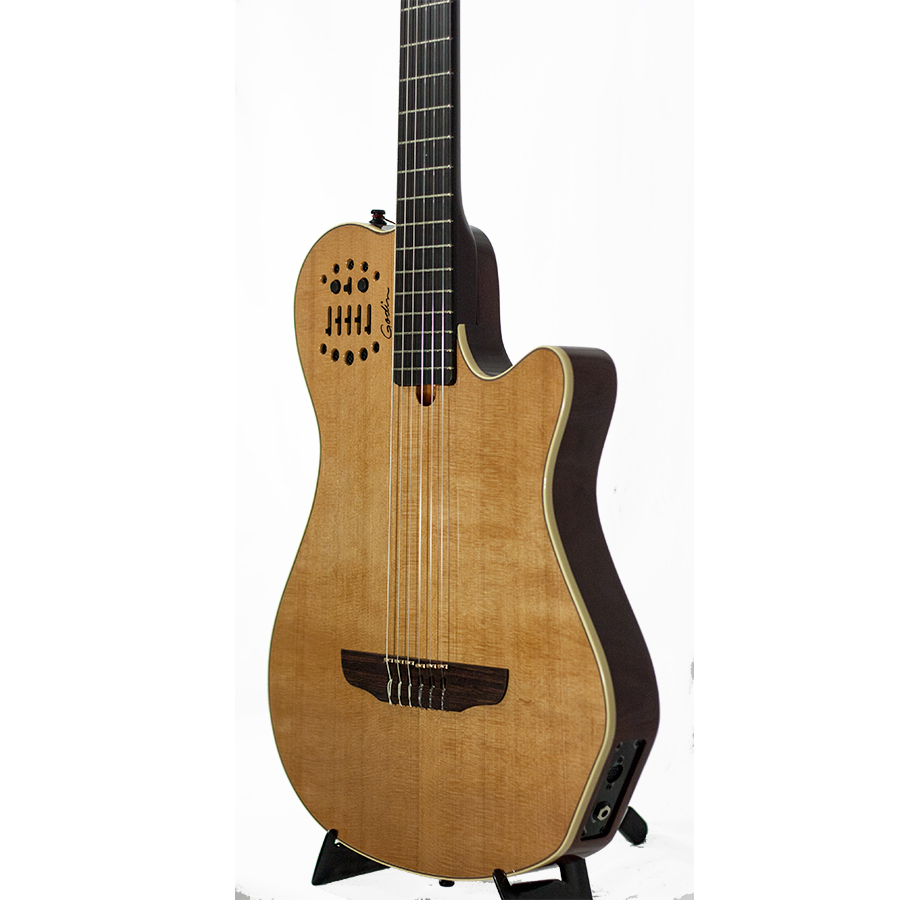 Godin Multiac Grand Concert SA Natural High-Gloss Blemished Body Detail