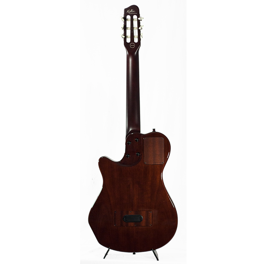 Godin Multiac Grand Concert SA Natural High-Gloss Blemished Rear View