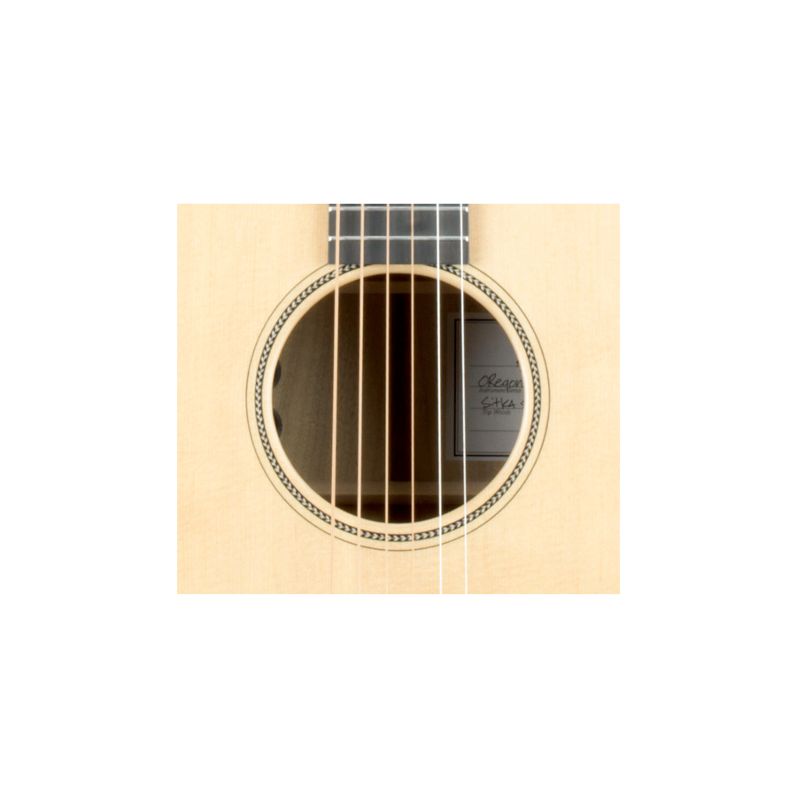 Breedlove Oregon Dreadnought Guitar Soundhole Detail