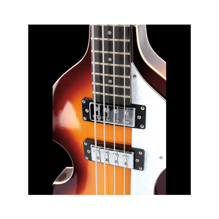 Hofner Violin Bass - Ignition Cavern Sunburst View 3