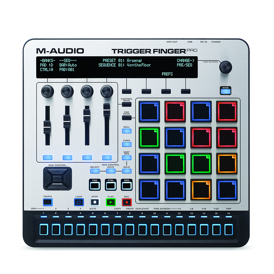 M-Audio Trigger Finger Pro View 7