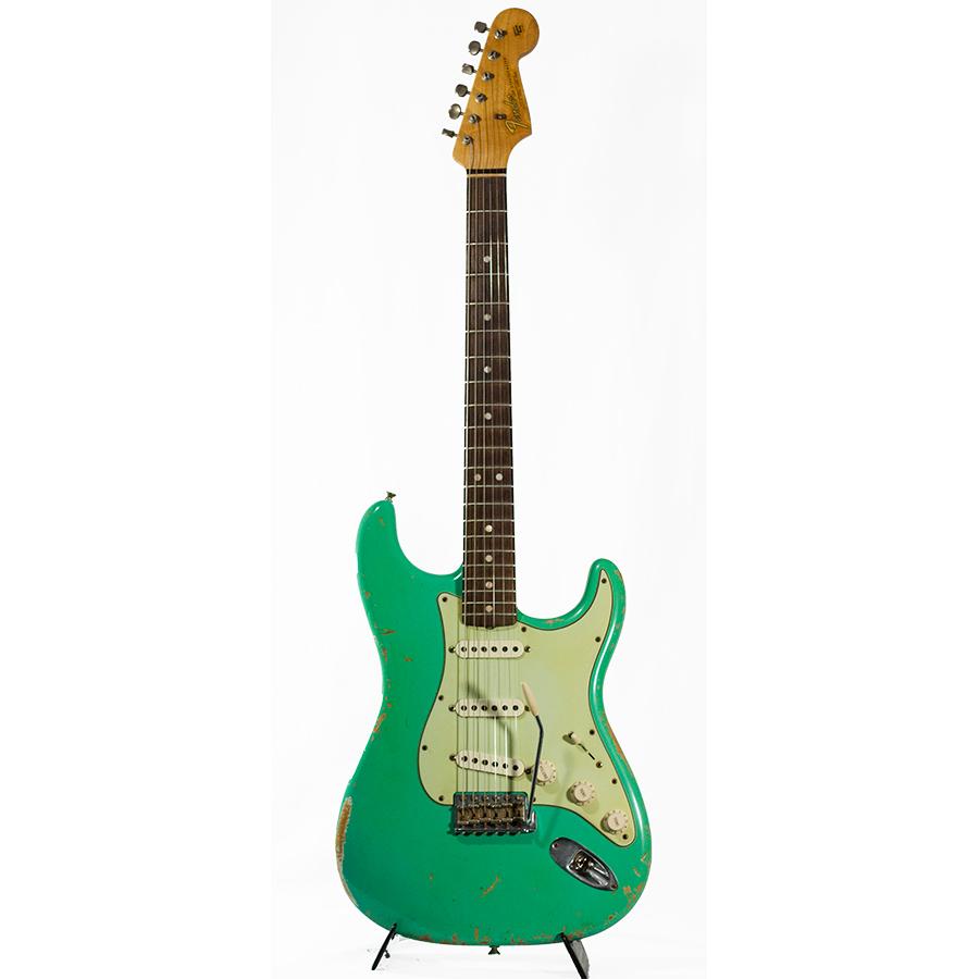 65 Heavy Relic Stratocaster Seafoam Green