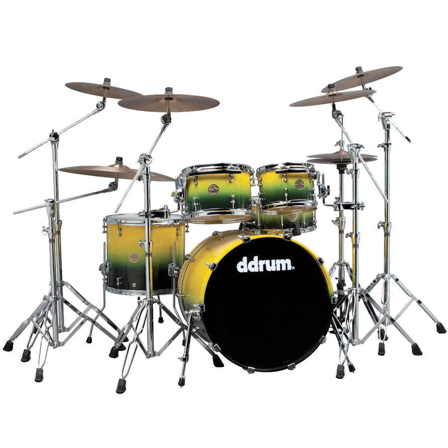 Dios Maple 5-Piece Yellow Black Fade Sparkle