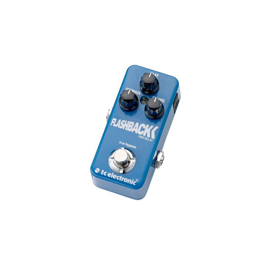 TC Electronic FlashBack Mini Delay Angled View