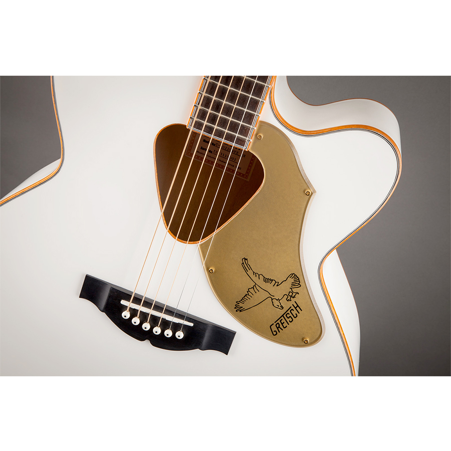 Gretsch  G5022CWFE Rancher Falcon - White View 4