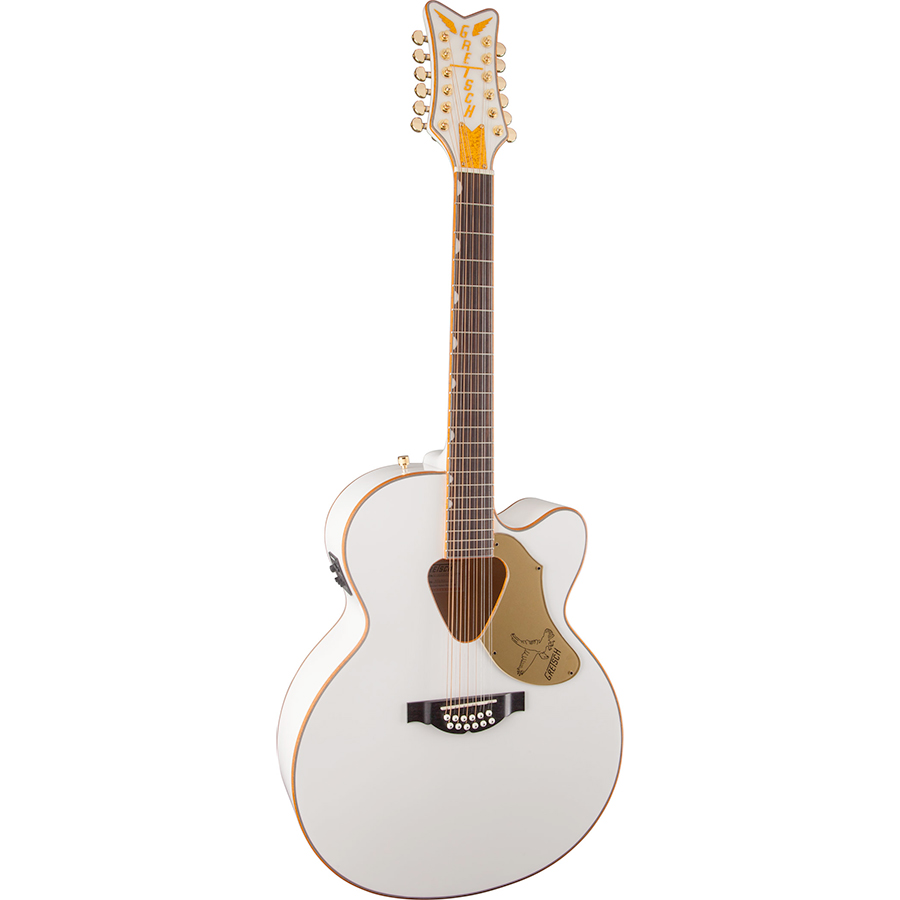 Gretsch G5022CWFE-12 Rancher Falcon - White View 2