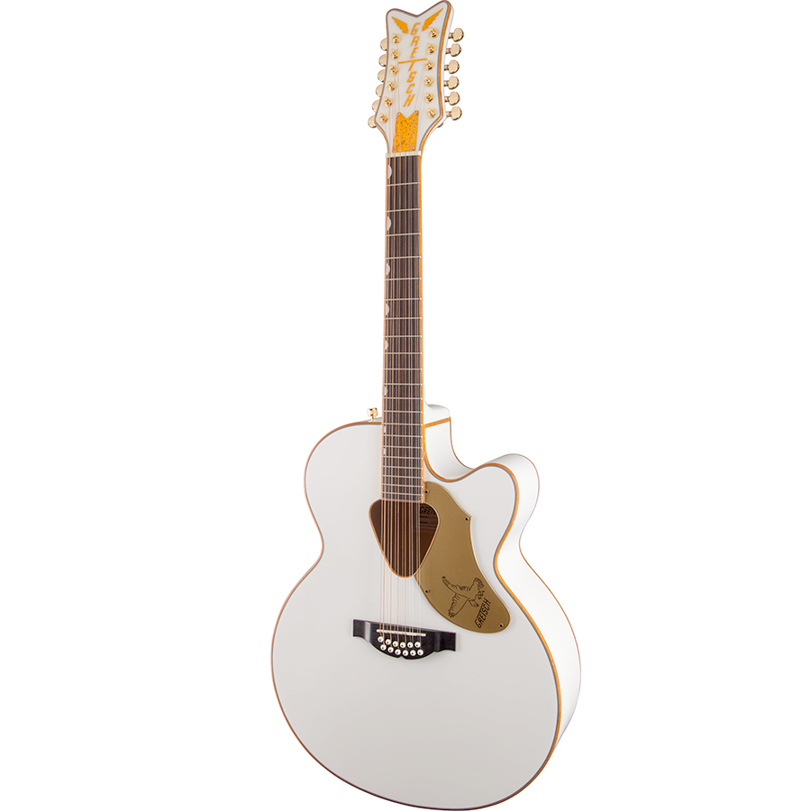 Gretsch G5022CWFE-12 Rancher Falcon - White View 3