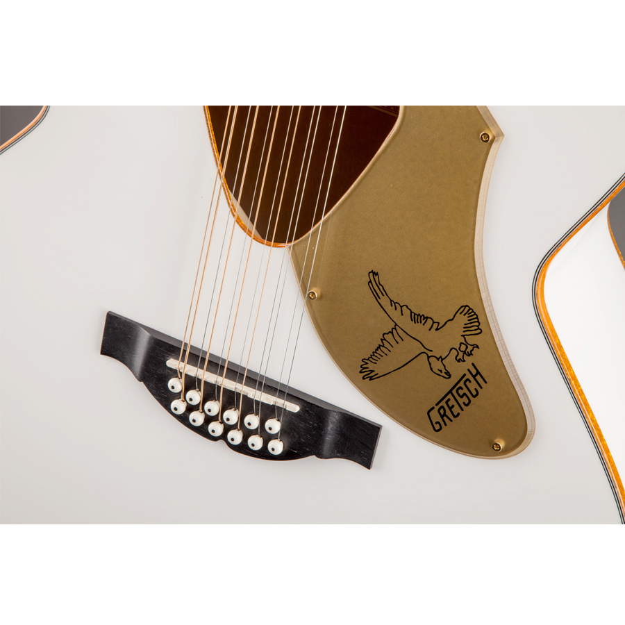 Gretsch G5022CWFE-12 Rancher Falcon - White View 4