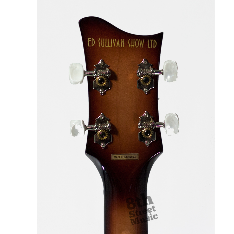 Hofner Limited Edition Ed Sullivan Show Ignition Bass Sunburst Rear Headstock