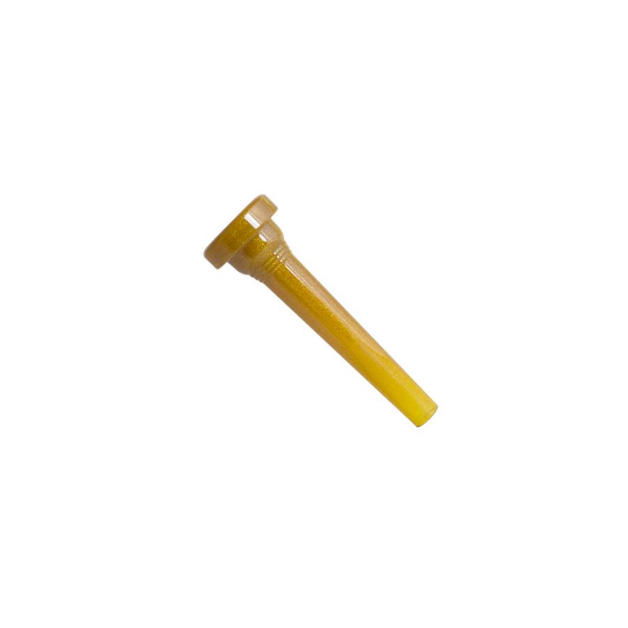 3C Trumpet Mouthpiece - Glitter Gold