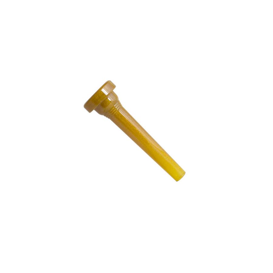 5C Trumpet Mouthpiece - Glitter Gold