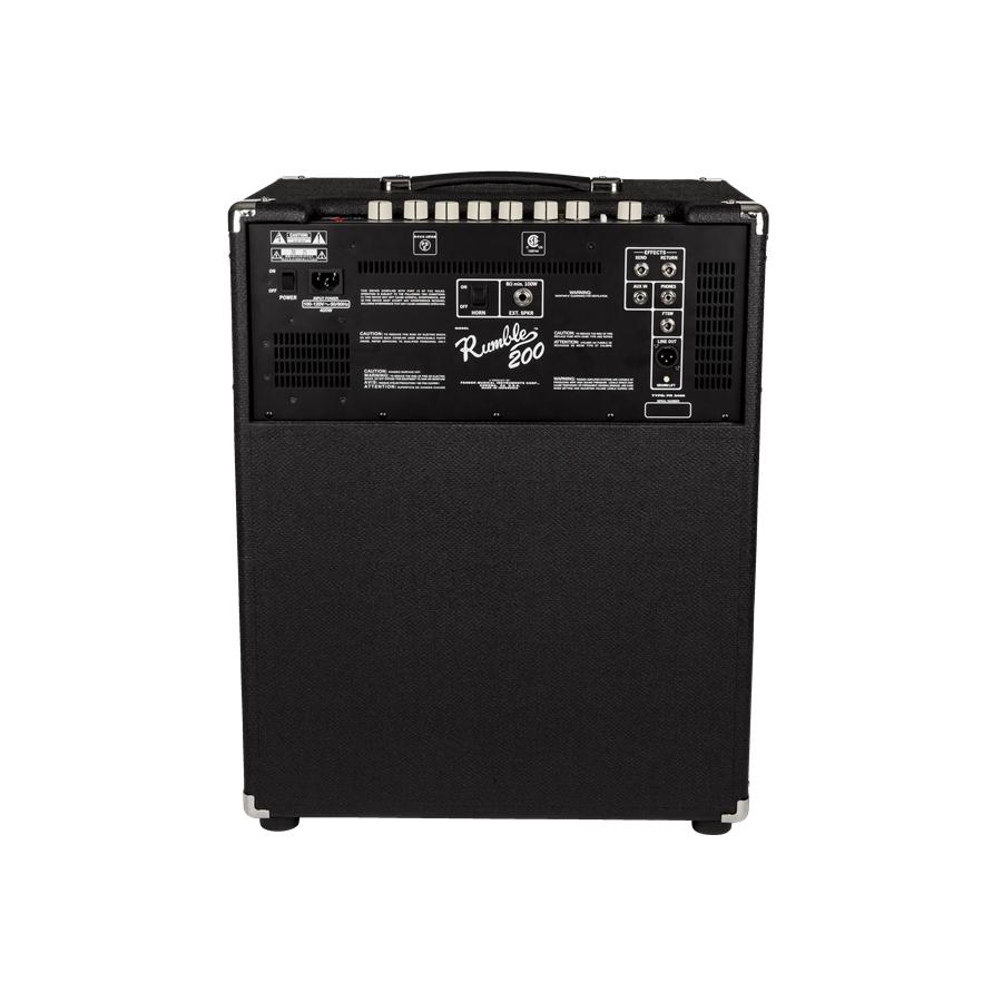 fender rumble 200 1x15 200 watt portable bass combo amplifier new 885978288236 ebay. Black Bedroom Furniture Sets. Home Design Ideas