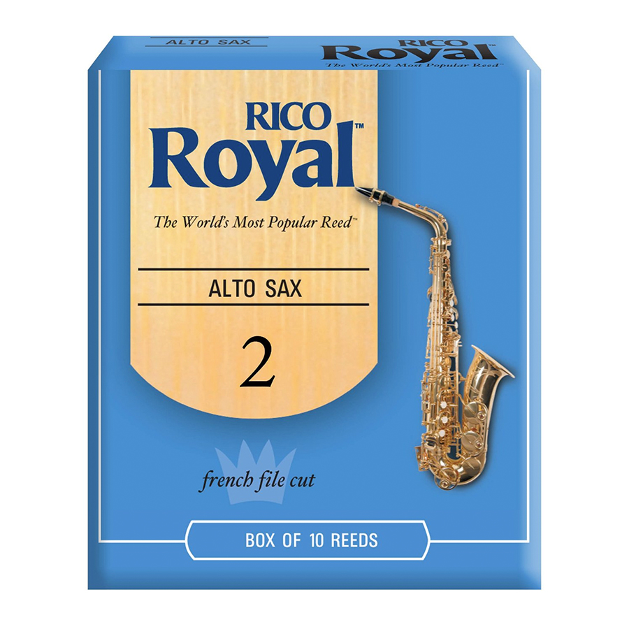 Alto Royal Sax Reeds 2.0 - 10-pack